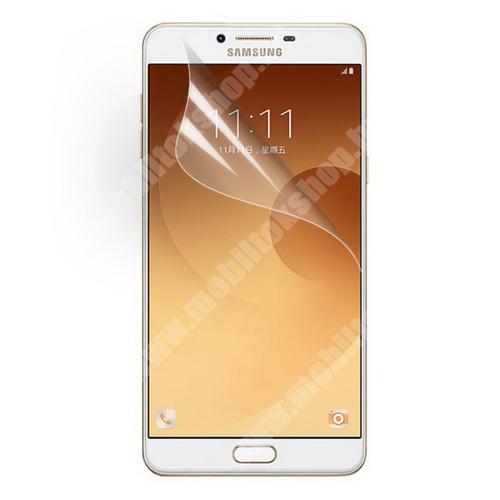 SAMSUNG Galaxy C9 Pro (SM-C9000) Képernyővédő fólia - Clear - 1db, törlőkendővel - SAMSUNG SM-C9000 Galaxy C9 Pro