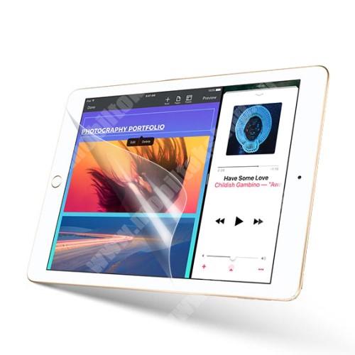 Képernyővédő fólia - Clear - 1db, törlőkendővel - APPLE iPad 9.7-inch (2017)