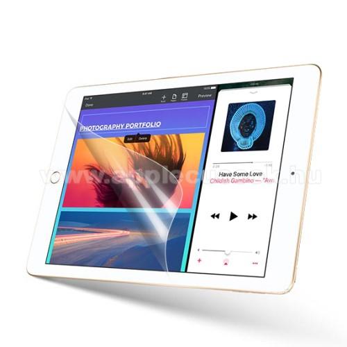 APPLE iPad 9.7 (2018)Képernyővédő fólia - Clear - 1db, törlőkendővel - APPLE iPad 9.7-inch (2017)