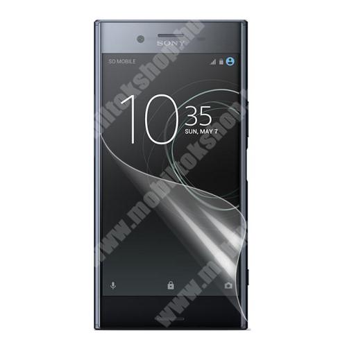 Képernyővédő fólia - Clear - 1db, törlőkendővel - Sony Xperia XZ Premium