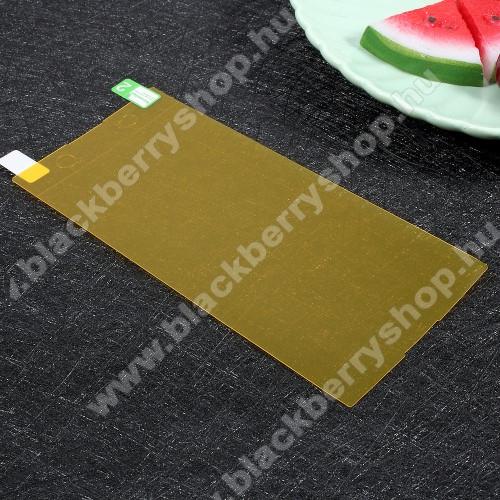 Képernyővédő fólia - Clear - 1db, törlőkendővel, teljes képernyőre - Sony Xperia XA1 Ultra