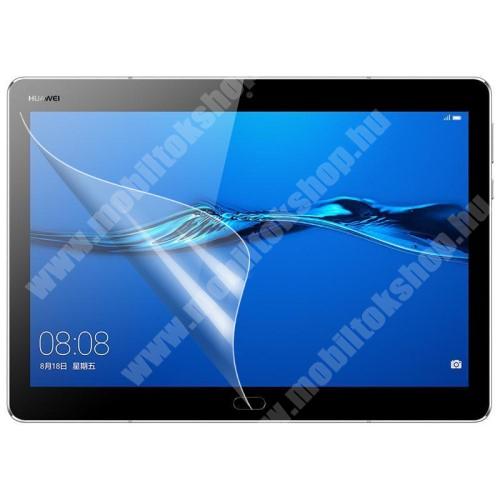 Képernyővédő fólia - Clear - 1db, törlőkendővel - Huawei MediaPad M3 Lite 10