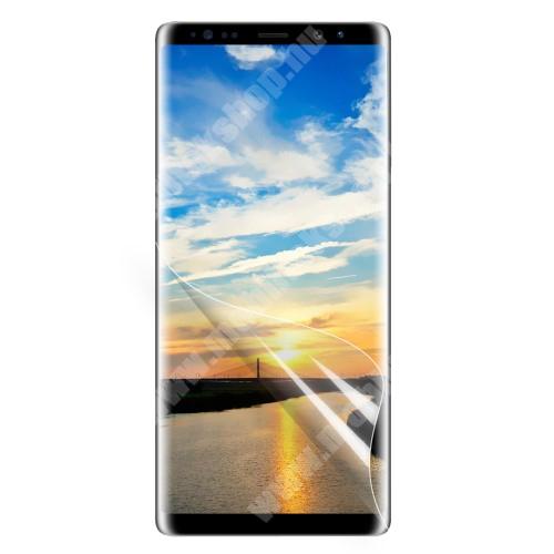 SAMSUNG SM-N950F Galaxy Note8 Képernyővédő fólia - Clear - 1db, törlőkendővel, teljes képernyőre - SAMSUNG SM-N950F Galaxy Note8
