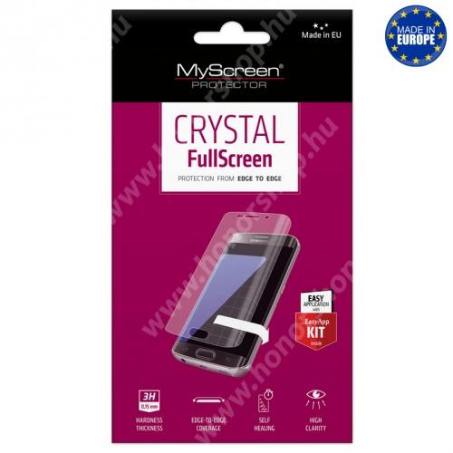 Képernyővédő fólia - CRYSTAL - 1db, törlőkendővel - Meizu M6 Note