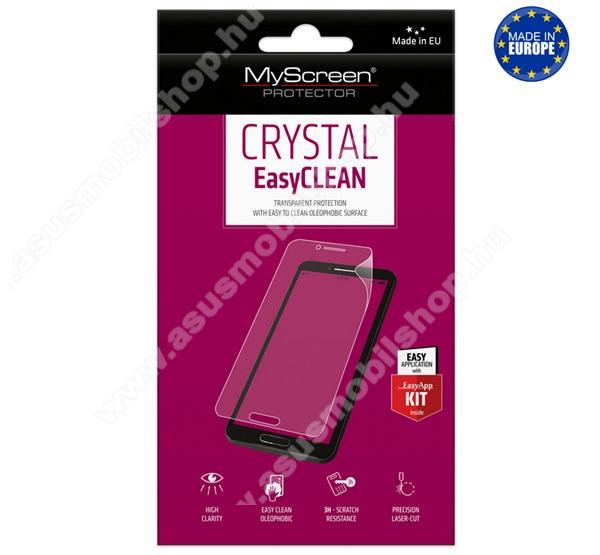 Képernyővédő fólia - CRYSTAL - 1db, törlőkendővel, A képernyő sík részét védi! - ASUS Zenfone 6 (ZS630KL) - GYÁRI