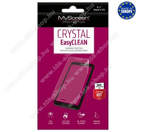 Képernyővédő fólia - CRYSTAL - 1db, törlőkendővel, A képernyő sík részét védi! - BLACKBERRY DTEK60 - GYÁRI