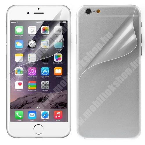 APPLE iPhone 6 Plus Képernyővédő fólia - Első és hátsó is! - Clear - 1db, törlőkendővel - APPLE iPhone 6 Plus