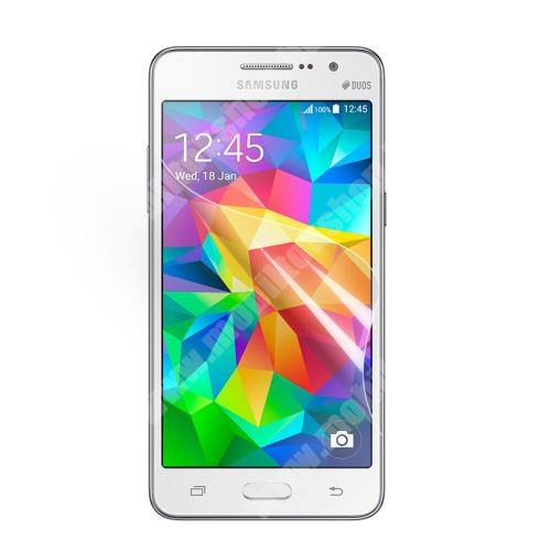 Képernyővédő fólia - HD CLEAR - 1db - SAMSUNG SM-G530H Galaxy Grand Prime / SAMSUNG SM-G532F Galaxy Grand Prime Plus / SAMSUNG SM-G532F Galaxy J2 Prime