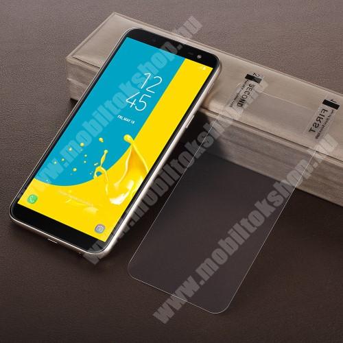 SAMSUNG SM-J600F Galaxy J6 (2018) Képernyővédő fólia - HD Clear - 1db, törlőkendővel - SAMSUNG SM-J600F Galaxy J6 (2018)