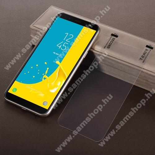 SAMSUNG SM-J600F Galaxy J6 (2018)Képernyővédő fólia - HD Clear - 1db, törlőkendővel - SAMSUNG SM-J600F Galaxy J6 (2018)