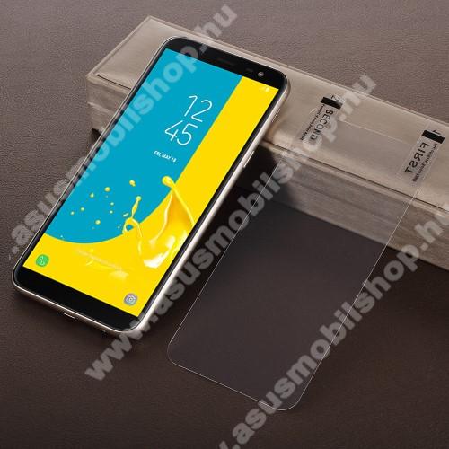 Képernyővédő fólia - HD Clear - 1db, törlőkendővel - SAMSUNG SM-J600F Galaxy J6 (2018)