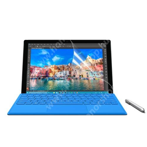 Képernyővédő fólia - HD Clear - 1db, törlőkendővel - MICROSOFT Surface Pro 4