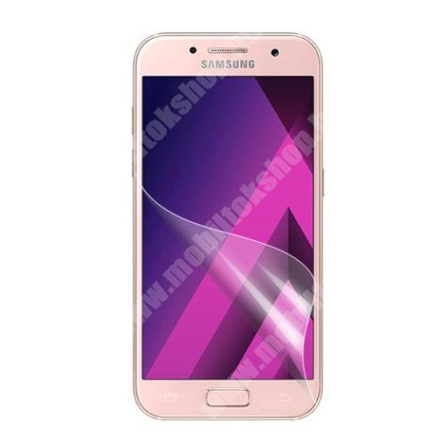 Képernyővédő fólia - HD Clear - 1db, törlőkendővel - SAMSUNG SM-A320F Galaxy A3 (2017)