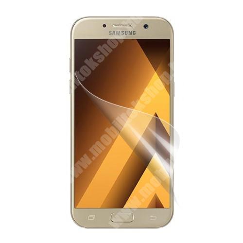 Képernyővédő fólia - HD Clear - 1db, törlőkendővel - SAMSUNG SM-A520F Galaxy A5 (2017)