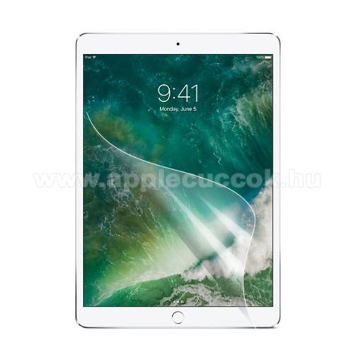 APPLE iPad Air (2019) Képernyővédő fólia - HD Clear - 1db, törlőkendővel - APPLE iPad Pro 10.5 (2017) / APPLE iPad Air (2019)