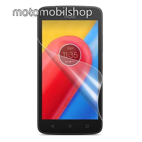 MOTOROLA Moto C Képernyővédő fólia - HD Clear - 1db, törlőkendővel - MOTOROLA Moto C
