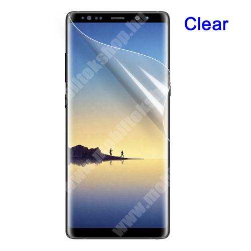 Képernyővédő fólia - HD Clear - 1db, törlőkendővel - SAMSUNG SM-N950F Galaxy Note8