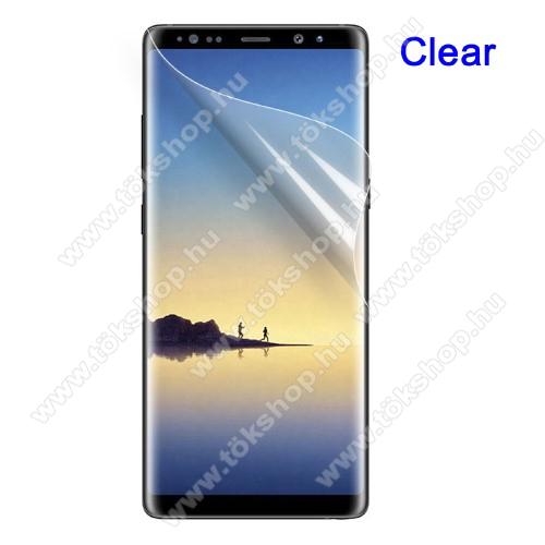 Képernyővédő fólia - HD Clear - 1db, törlőkendővel, teljes képernyőre - SAMSUNG SM-N950F Galaxy Note8