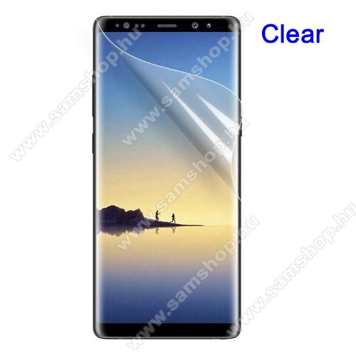 SAMSUNG SM-N950F Galaxy Note8Képernyővédő fólia - HD Clear - 1db, törlőkendővel - SAMSUNG SM-N950F Galaxy Note8