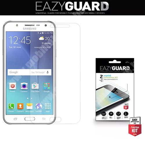 SAMSUNG Galaxy J5 (2015) (SM-J500F) Képernyővédő fólia törlőkendővel (2 féle típus) CRYSTAL/ANTIREFLEX - SAMSUNG SM-J500F Galaxy J5 (2015)