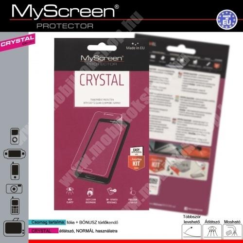 SAMSUNG SM-A500F/DS Galaxy A5 DUOS Képernyővédő fólia törlőkendővel CRYSTAL- SAMSUNG SM-A500F Galaxy A5