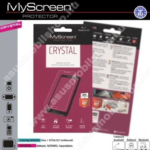 Képernyővédő fólia törlőkendővel CRYSTAL - 1db - ASUS Zenfone 3 Max (ZC520TL)