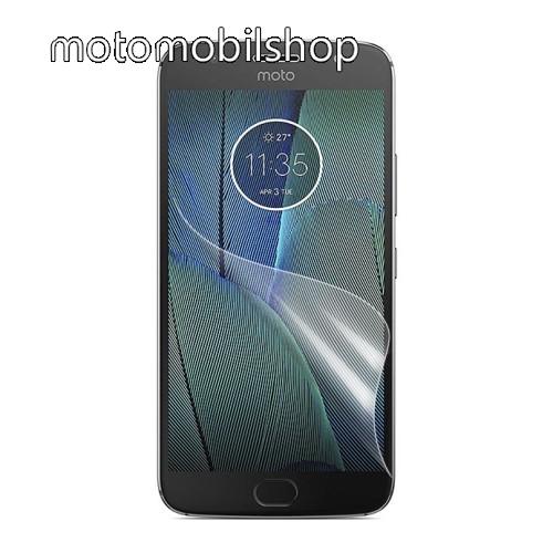 MOTOROLA Moto G5S Képernyővédő fólia - Ulta Clear - 1db, törlőkendővel - MOTOROLA Moto G5S