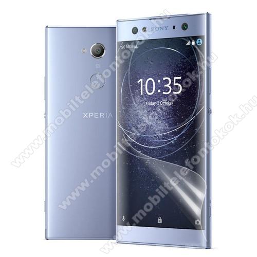 Képernyővédő fólia - Ultra Clear - 1db, törlőkendővel - SONY Xperia XA2 Ultra