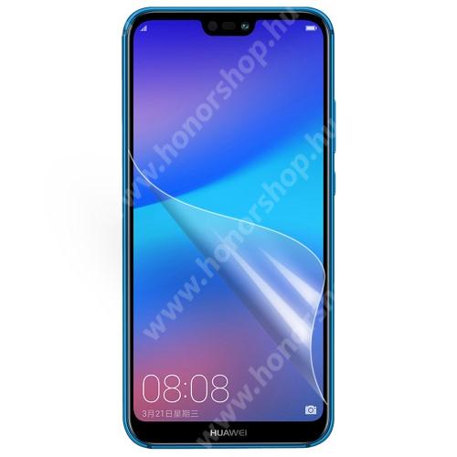 HUAWEI P20 Lite (2018) Képernyővédő fólia - Ultra Clear - 1db, törlőkendővel - HUAWEI P20 lite (2018) / HUAWEI Nova 3e