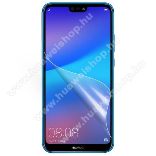 HUAWEI P20 Lite (2018)Képernyővédő fólia - Ultra Clear - 1db, törlőkendővel - HUAWEI P20 lite (2018) / HUAWEI Nova 3e