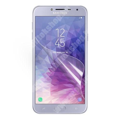 Képernyővédő fólia - Ultra Clear - 1db, törlőkendővel - SAMSUNG SM-J400F Galaxy J4 (2018)
