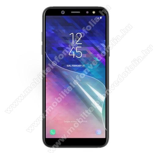 Képernyővédő fólia - Ultra Clear - 1db, törlőkendővel - SAMSUNG SM-A600F Galaxy A6 (2018)