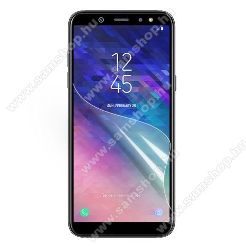SAMSUNG SM-A605G Galaxy A6 Plus (2018)Képernyővédő fólia - Ultra Clear - 1db, törlőkendővel - SAMSUNG SM-A605G Galaxy A6 Plus (2018)