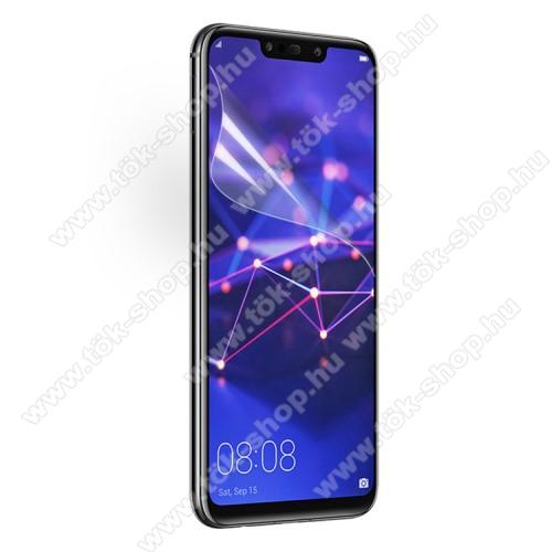 Képernyővédő fólia - Ultra Clear - 1db, törlőkendővel - HUAWEI Mate 20 Lite / HUAWEI Maimang 7 / HUAWEI nova 3 / HUAWEI nova 3i / HUAWEI P Smart+