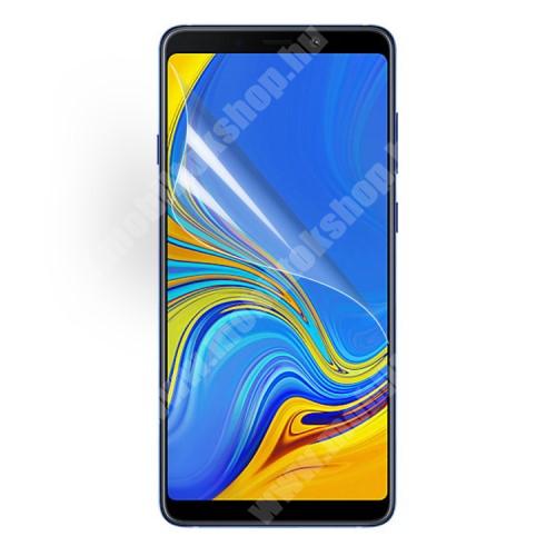 Képernyővédő fólia - Ultra Clear - 1db, törlőkendővel - SAMSUNG Galaxy A9 (2018)