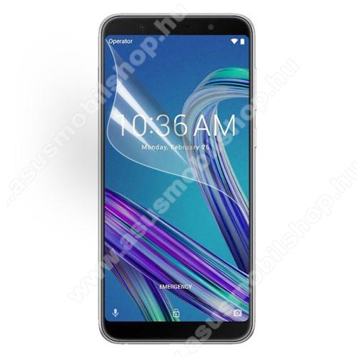ASUS Zenfone Max Pro (M1) (ZB601KL)Képernyővédő fólia - Ultra Clear - 1db, törlőkendővel - ASUS Zenfone Max Pro (M1) (ZB602KL) / ASUS Zenfone Max Pro (M1) (ZB601KL)