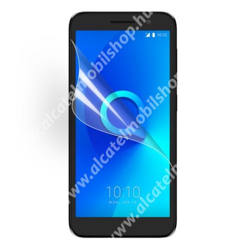Képernyővédő fólia - Ultra Clear - 1db, törlőkendővel - ALCATEL 1