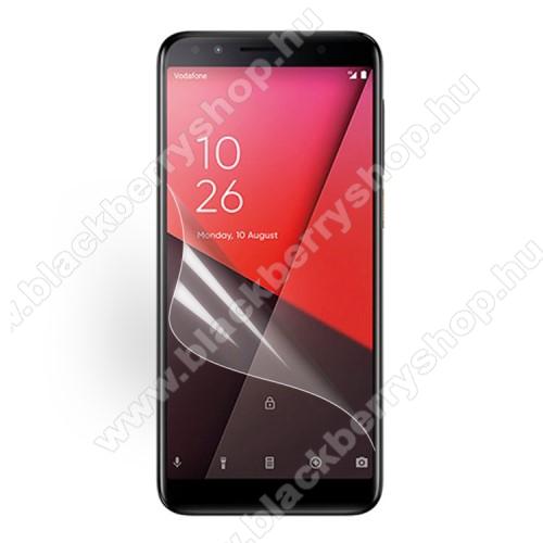 Képernyővédő fólia - Ultra Clear - 1db, törlőkendővel - Vodafone Smart N9