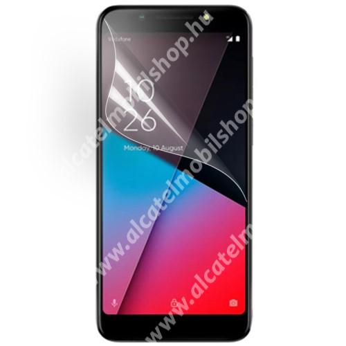 Képernyővédő fólia - Ultra Clear - 1db, törlőkendővel - Vodafone Smart N9 lite