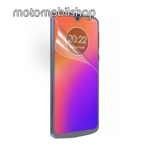 Képernyővédő fólia - Ultra Clear - 1db, törlőkendővel - MOTOROLA Moto G7