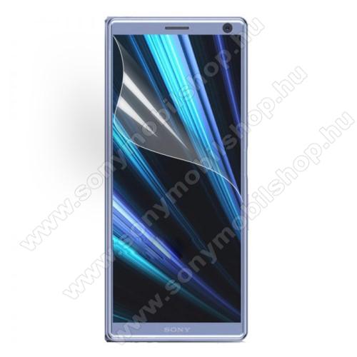 SONY Xperia 10 (2019)Képernyővédő fólia - Ultra Clear - 1db, törlőkendővel - SONY Xperia 10