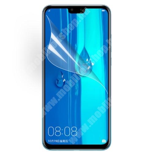 HUAWEI Y9 (2019) Képernyővédő fólia - Ultra Clear - 1db, törlőkendővel - HUAWEI Y9 (2019) / HUAWEI Enjoy 9 Plus
