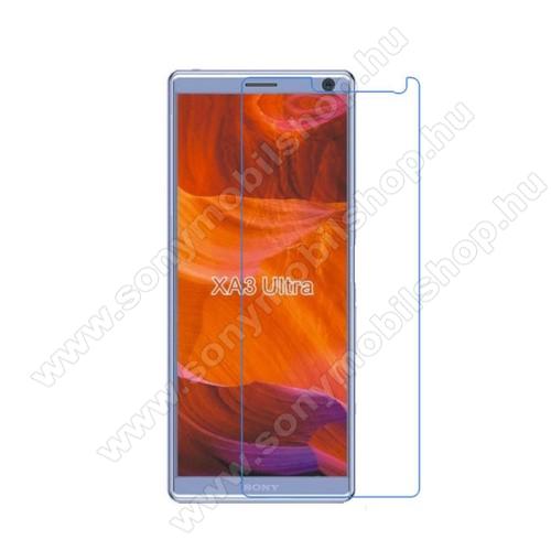 Képernyővédő fólia - Ultra Clear - 1db, törlőkendővel - SONY Xperia XA3 Ultra