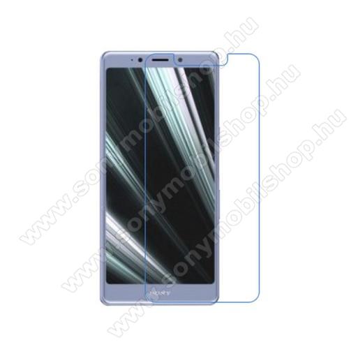 Képernyővédő fólia - Ultra Clear - 1db, törlőkendővel - SONY Xperia L3