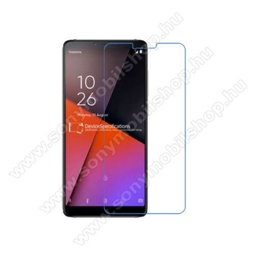 Képernyővédő fólia - Ultra Clear - 1db, törlőkendővel - Vodafone Smart X9