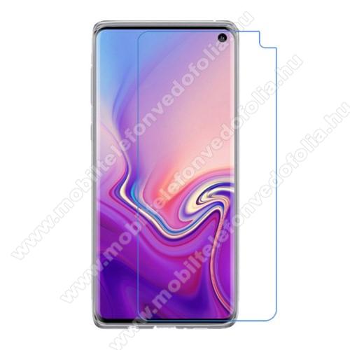 Képernyővédő fólia - Ultra Clear - 1db, törlőkendővel - SAMSUNG SM-G973F Galaxy S10