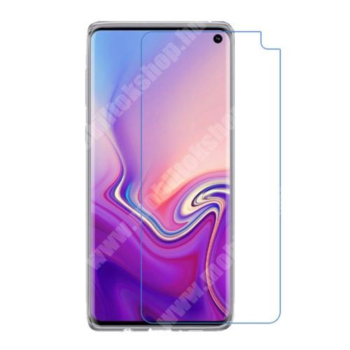 SAMSUNG Galaxy S10e (SM-G970F) Képernyővédő fólia - Ultra Clear - 1db, törlőkendővel - SAMSUNG SM-G970F Galaxy S10e