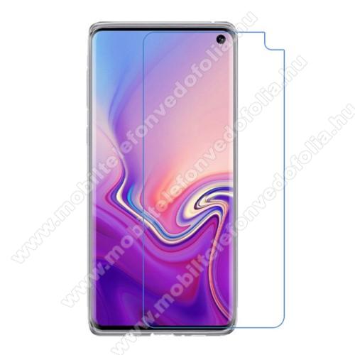 Képernyővédő fólia - Ultra Clear - 1db, törlőkendővel - SAMSUNG SM-G970F Galaxy S10e