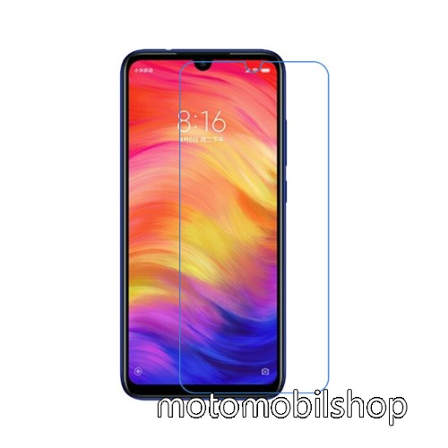 Képernyővédő fólia - Ultra Clear - 1db, törlőkendővel - Xiaomi Redmi Note 7 / Xiaomi Redmi Note 7 Pro / Xiaomi Redmi Note 7S
