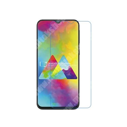Képernyővédő fólia - Ultra Clear - 1db, törlőkendővel - SAMSUNG SM-M205F Galaxy M20